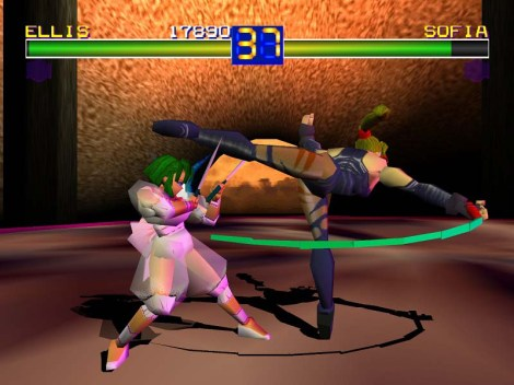 Battle Arena Toshinden - Sofia Stage
