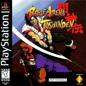 Battle Arena Toshinden PlayStation cover