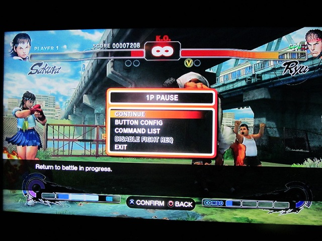 This here is an actual screenshot from one of my many matches versus some Ryu pest.