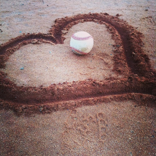 I always have love for the game. It's a love I cherish with others too.