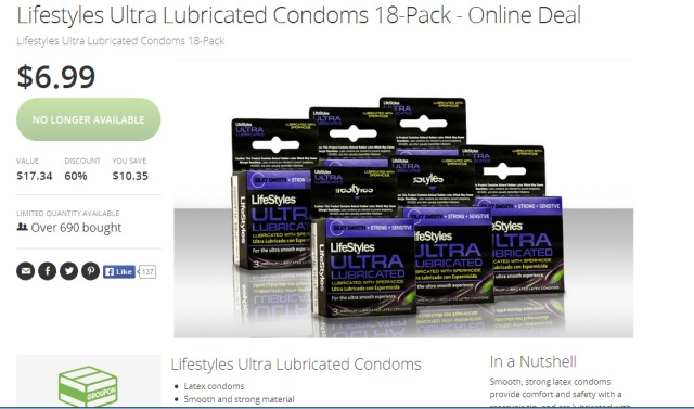 DISCOUNTED ULTRA LUBRICATED CONDOMS