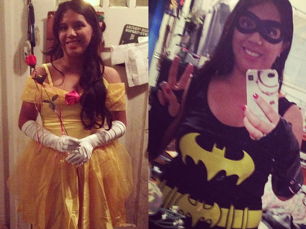 From a princess to a superhero.