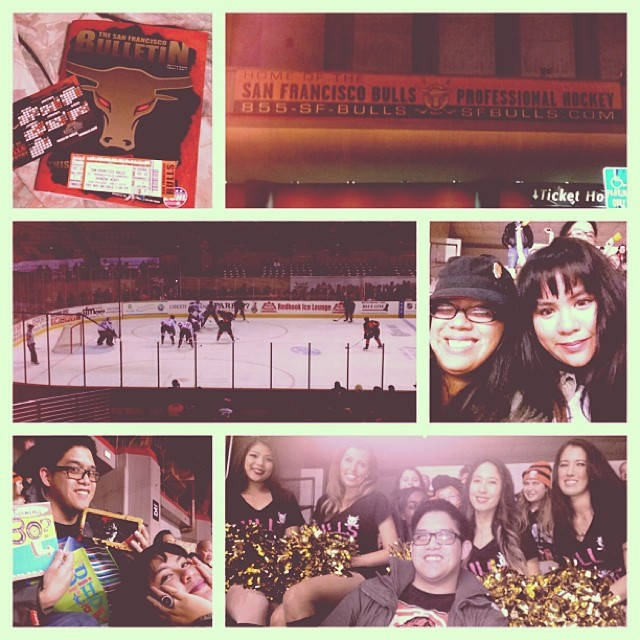 Some images from the San Francisco Bulls home season opener, which I went to celebrate my buddy Alvin's birthday!