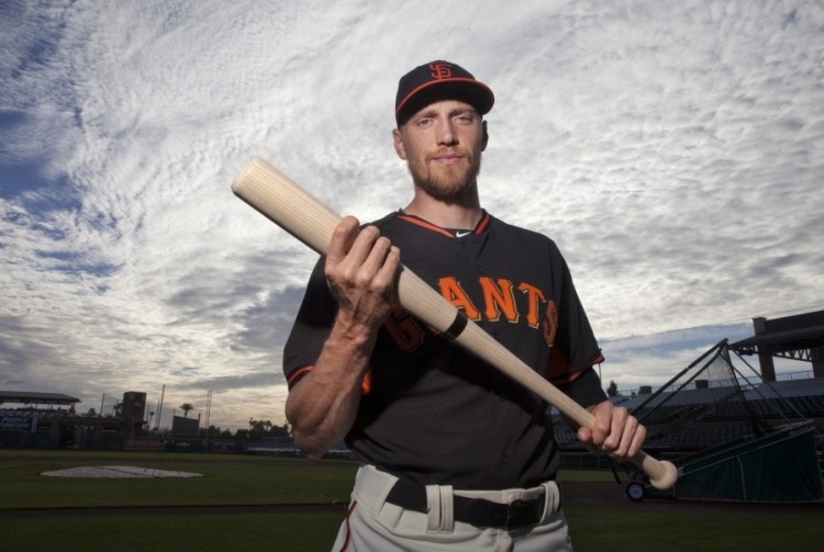 2014 SF Giants - Hunter Pence