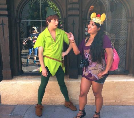 """Peter Pan's """"Dis Bitch"""" Look"""