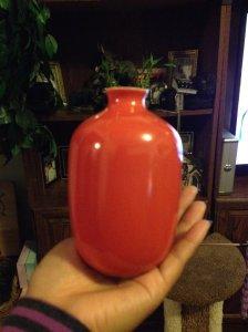 Middle Kingdom Mini Plum Vase