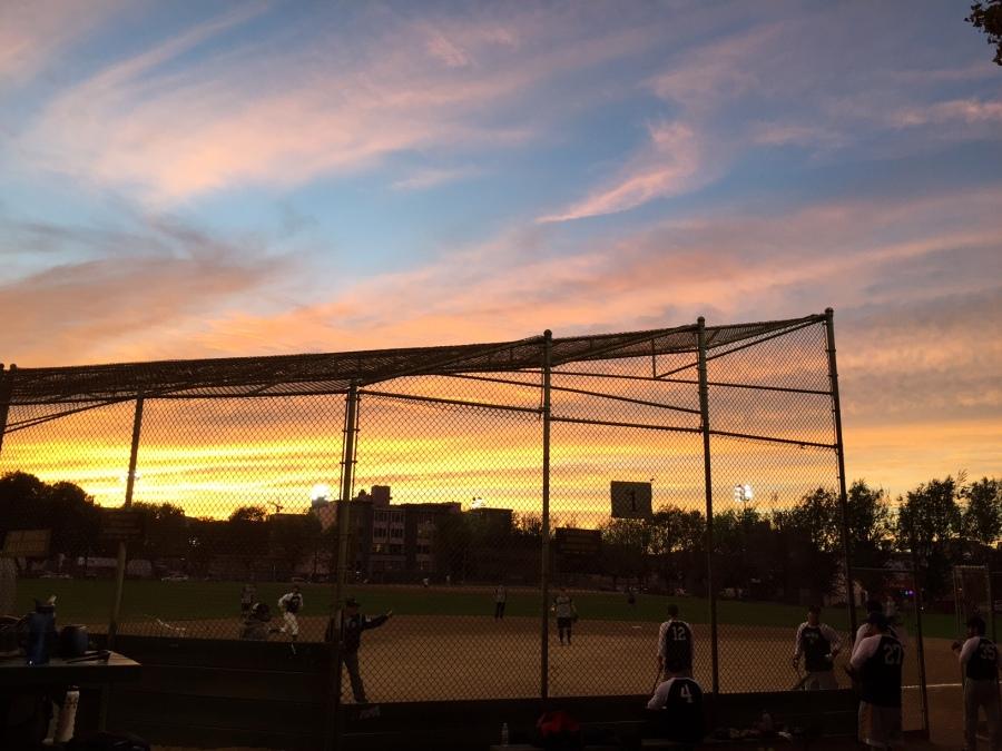 SF Softball Sunset